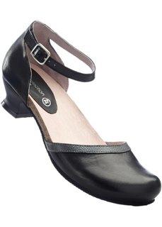 Кожаные туфли (красный) Bonprix