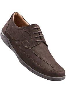 Удобные кожаные туфли от Lico (черный) Bonprix