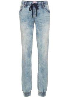 Эластичные джинсы на резинке COMFORT, cредний рост (N) (светло-серый) Bonprix