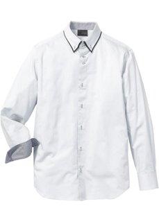 Деловая рубашка Regular Fit (нежно-голубой) Bonprix