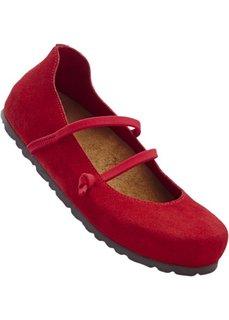 Удобные замшевые туфли (темно-синий) Bonprix