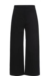 Укороченные широкие брюки с завышенной талией T by Alexander Wang