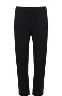 Кашемировые брюки прямого кроя Giorgio Armani