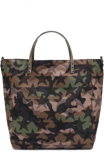 Текстильная сумка-тоут Camustars с плечевым ремнем Valentino
