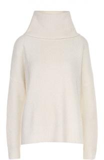 Кашемировый свитер свободного кроя с высоким воротником Polo Ralph Lauren