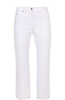 Укороченные расклешенные джинсы со стрелками Calvin Klein Collection