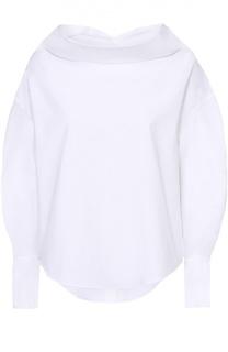 Блуза свободного кроя с воротником-хомут Emilio Pucci