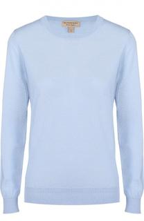 Пуловер прямого кроя с контрастными заплатками Burberry