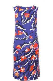Мини-платье прямого кроя с контрастным принтом Emilio Pucci