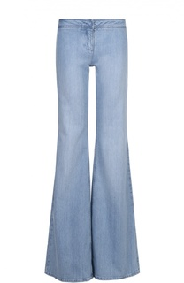 Расклешенные джинсы с карманами Balmain