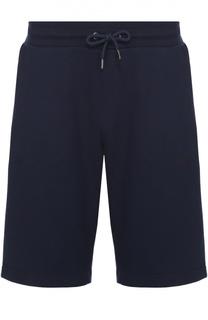 Хлопковые шорты свободного кроя Armani Jeans