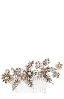 Гребень c жемчугом и кристаллами Erickson Beamon