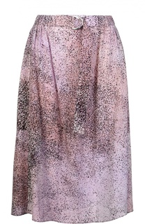 Юбка-миди с эластичным поясом и карманами Kenzo