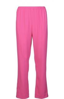 Прямые брюки с лампасами и эластичным поясом Kenzo