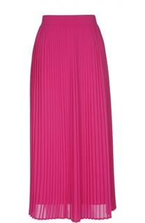 Плиссированная юбка-миди с широким поясом Kenzo