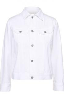 Джинсовая куртка прямого кроя с накладными карманами Citizens Of Humanity