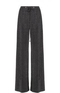 Широкие брюки с эластичным поясом и металлизированной отделкой MRZ