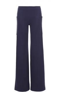 Расклешенные брюки с завышенной талией и накладными карманами MRZ