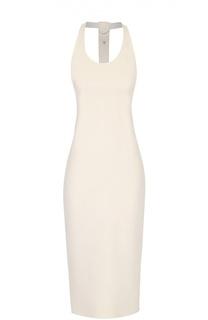Облегающее платье без рукавов с открытой спиной Tom Ford