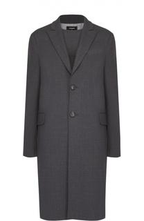 Комплект из шерстяных пальто и платья прямого кроя Dsquared2