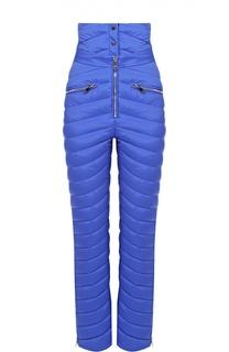 Спортивные стеганые брюки с завышенной талией Odri