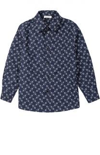 Рубашка из хлопка с принтом Dolce & Gabbana
