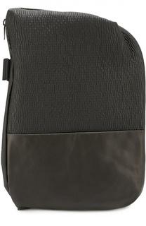 Кожаный рюкзак Isar с текстильной отделкой Cote&Ciel Cote&Ciel