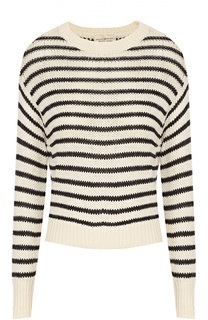 Укороченный пуловер в контрастную полоску с круглым вырезом Denim&Supply by Ralph Lauren