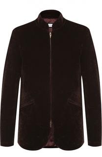 Куртка на молнии с воротником-стойкой Armani Collezioni