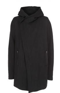 Хлопковое пальто с добавлением шерсти и шелка Lost&Found Lost&Found