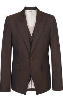 Шерстяной приталенный пиджак Vivienne Westwood