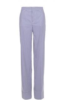 Хлопковые широкие брюки в полоску Dsquared2