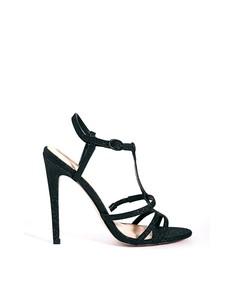 Босоножки на каблуке ASOS HIERARCHY - Черный