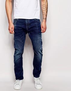 Узкие джинсы с умеренным состаренным эффектом G-Star Arc 3D - Синий