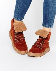 Туристические ботинки ASOS ALLYCAT - Рыжий