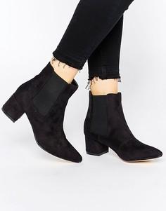 Ботинки челси с острым носом Truffle Collection Molly - Черный