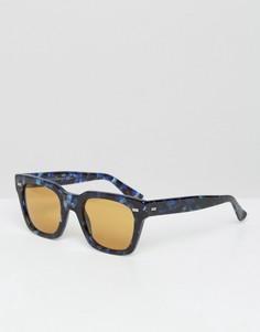 Солнцезащитные очки в D-образной оправе Gucci - Коричневый