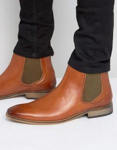 Кожаные ботинки челси Base London Cheshire - Рыжий