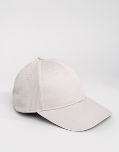 Светло-серая бейсболка ASOS - Серый