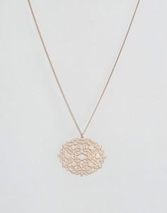 Филигранное ожерелье Nylon - Золотой
