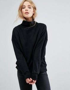 Джемпер-водолазка New Look - Черный