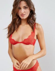 Бюстгальтер с глубоким вырезом Bluebella Valentines Ella - Красный