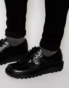 Низкие туфли Kickers Kick - Темно-синий