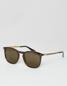 Квадратные солнцезащитные очки Gucci GG 1130/S - Коричневый