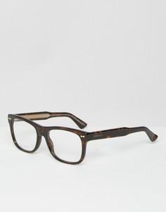 Очки в стиле ретро Gucci GG 1135 - Черный