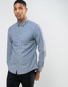 Узкая рубашка Esprit - Синий
