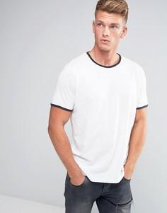 Базовая футболка Brave Soul Ringer - Бежевый