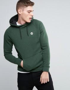 Зеленое худи классического кроя с логотипом на груди Hollister Core - Зеленый