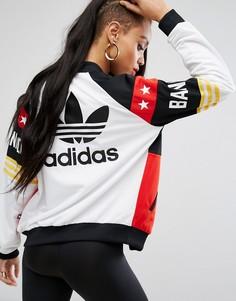 Куртка-пилот adidas Originals X Rita Ora Banned From Normal - Белый