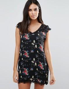 Цельнокройное платье с цветочным принтом Jasmine - Мульти